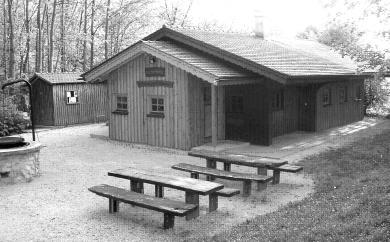 Die Bruttelhütte der SG Ittenhausen